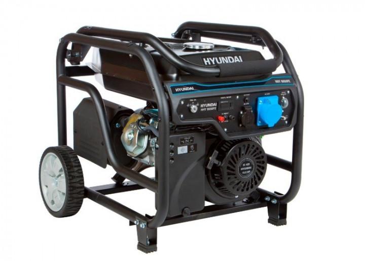Бензиновий генератор Hyundai 6.5 КВ (1 та 3 фази)